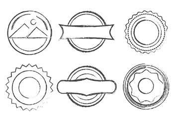 Vector Grunge Stamps - Free vector #151073