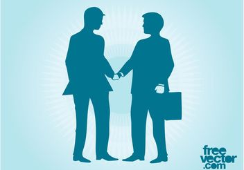 Business Meeting Vector - Free vector #151423