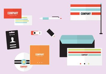 Company Profile Template Vectors - бесплатный vector #151883