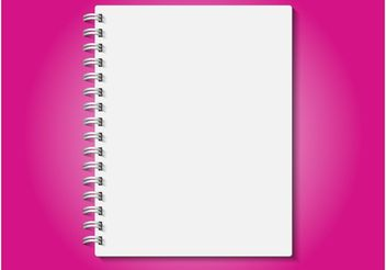 Realistic Notebook - vector gratuit #152053
