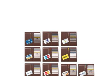 Credit Cards - vector gratuit #152353