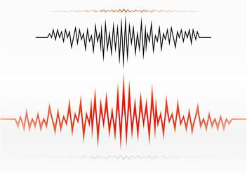 Audio Wave Design - Free vector #152483