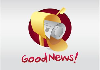 Good News - vector gratuit #152533