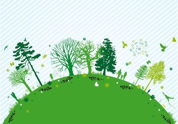 Nature Design - vector gratuit #152833