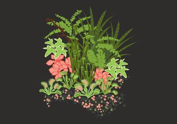 Secret Garden Vector - vector gratuit #152973
