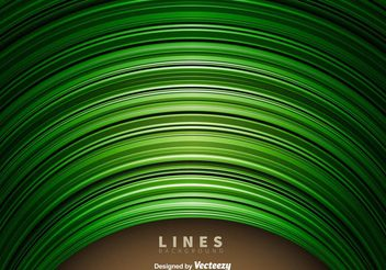 Abstract Green Lines Background - vector gratuit #153193