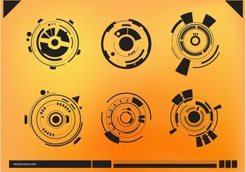 Abstract Technology Graphics - Free vector #153493
