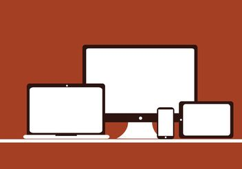 Free Vector of Digital Devices - vector #153653 gratis