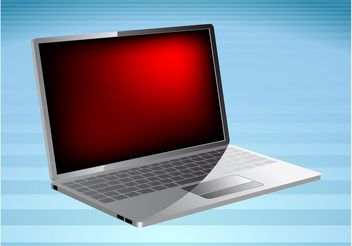 PC Laptop - vector gratuit #153683