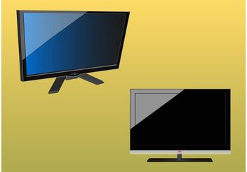 LCD Screens - vector #153963 gratis