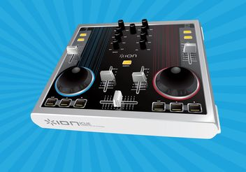 Audio Mixer Vector - vector #154143 gratis
