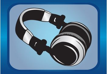 Wireless Headphones - vector gratuit #154313