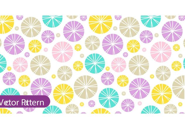 Colorful Retro Pattern Vector - бесплатный vector #154453
