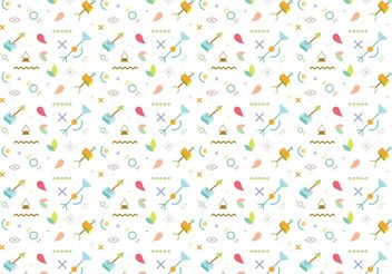 Abstract Pattern Background Vector - бесплатный vector #154483