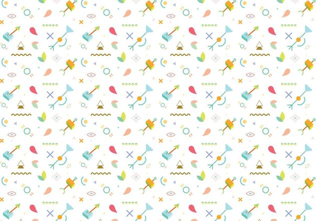 Abstract Pattern Background Vector - Free vector #154483