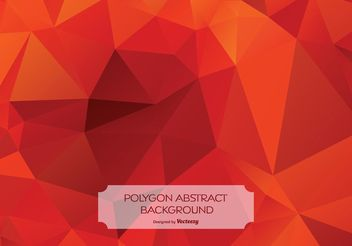 Abstract Polygon Background Illustration - vector #154493 gratis