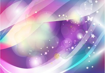 Butterfly Fantasy Backdrop - vector gratuit #154743