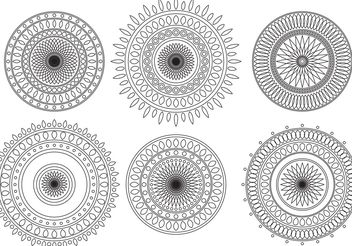 Circle Indian Vector Designs - Kostenloses vector #154913