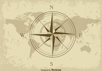 Nautical Map - vector #155063 gratis