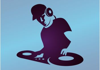 DJ Graphics - vector gratuit #155453