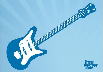Vector Electric Guitar - Free vector #155613