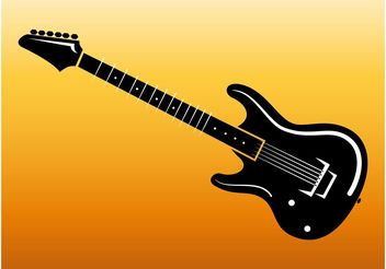 Electric Guitar Footage - vector gratuit #155693