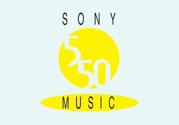 Sony 550 Music - Free vector #155743