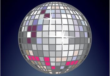 Disco Ball - vector gratuit #155843