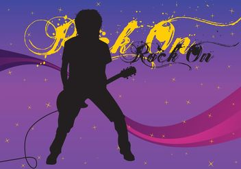 Free Guitarist Vector Image - Free vector #155853