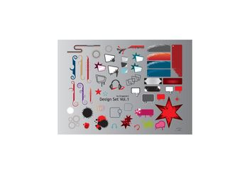 Design Elements - vector gratuit #155873