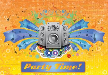 Party Footage - vector gratuit #155943