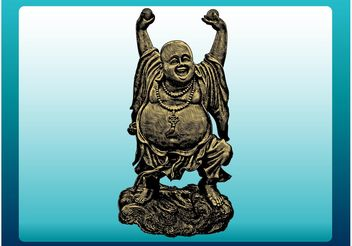 Happy Buddha - vector #156263 gratis