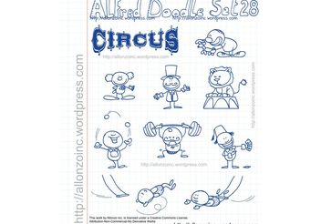 Alfred Doodle Set 28 - Free vector #156943