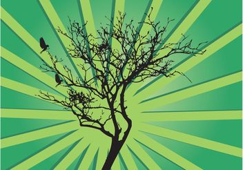Vector Tree Background - Free vector #157743