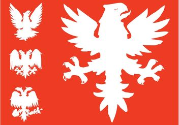 Heraldic Eagles Graphics - Kostenloses vector #157793