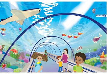 Underwater World - vector gratuit #157913
