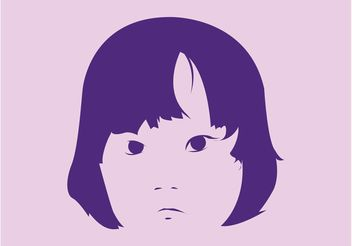Asian Kid - vector #158183 gratis