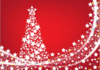 Shining Star Christmas - Free vector #158353
