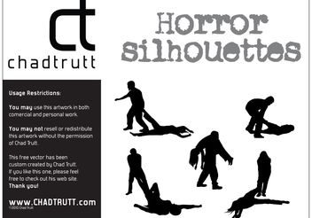Horror Silhouette -1 - Free vector #158513