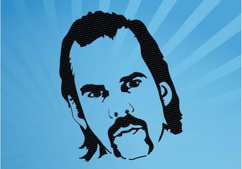 Nick Cave - Free vector #158583
