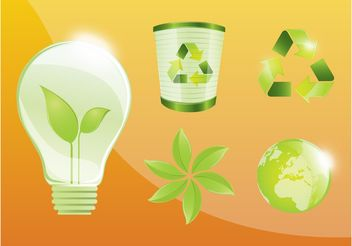 Ecology Graphics - vector gratuit #158923