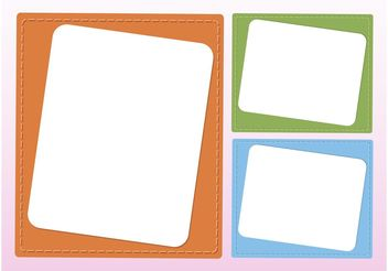 Colorful Cards - Kostenloses vector #159023