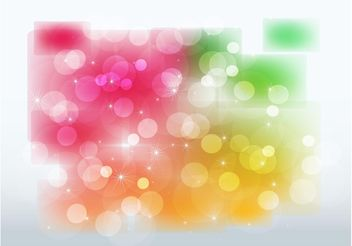 Stars and Color Glows - Free vector #159233