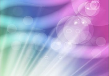Colorful Rays Background - vector gratuit #159253