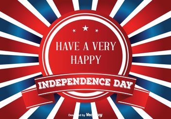 Independence Day Illustration - Kostenloses vector #159423