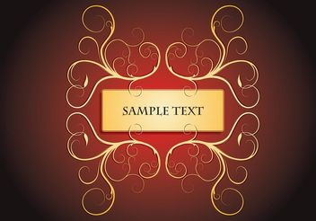 Invitation Vector Art - Free vector #159513