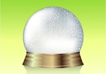 Snow Globe Graphics - Free vector #159703