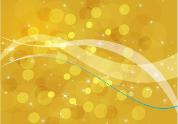 Golden Bubbles Background - vector gratuit #159813