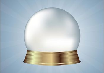Crystal Ball Vector - Free vector #159853
