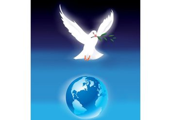 World Peace Poster - vector gratuit #159873